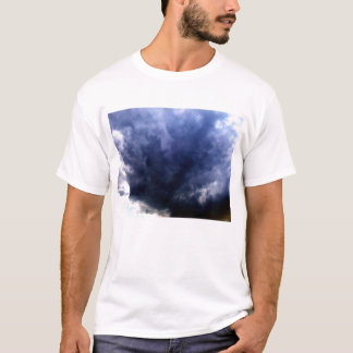 Luminous Chaotic Sunrise Storm Clouds by KLM T-Shirt