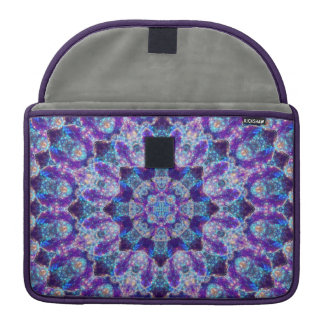 Luminous Crystal Flower MacBook Pro Sleeve