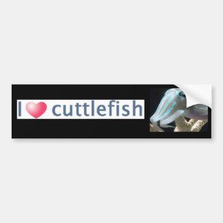 Luminous Cuttlefish Car Bumper Sticker