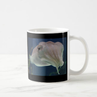 Luminous Cuttlefish Classic White Coffee Mug