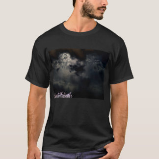 Luminous Dark Sunset and Negated Treetop by KLM T-Shirt