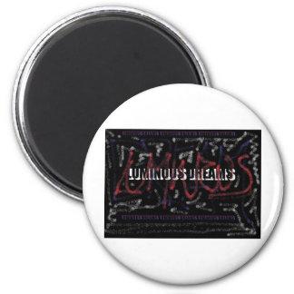 luminous dreams refrigerator magnet