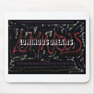 luminous dreams mouse pad