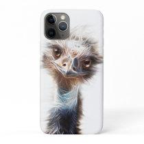 Luminous Emu art Farmhouse iPhone 11 Pro Case