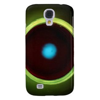 Luminous glass eye galaxy s4 covers