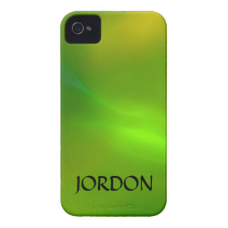 Luminous green iPhone 4 case