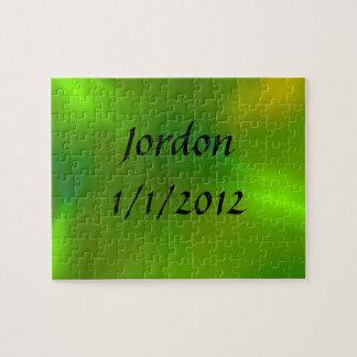 Luminous green puzzles