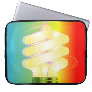 Luminous Light Bulb Electronics Bag