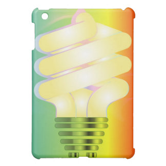 Luminous Light Bulb iPad cover