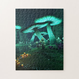 Luminous Mushrooms Puzzle