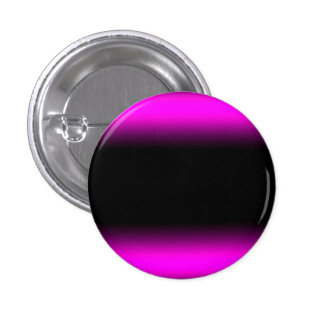 Luminous Pinkish Purple and Black Ombre 1 Inch Round Button