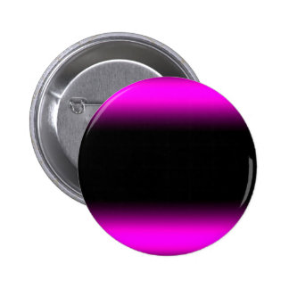 Luminous Pinkish Purple and Black Ombre 2 Inch Round Button