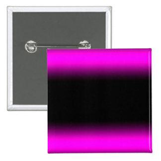 Luminous Pinkish Purple and Black Ombre 2 Inch Square Button