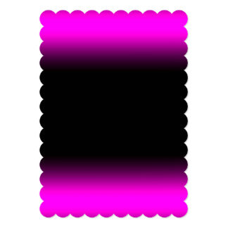 Luminous Pinkish Purple and Black Ombre Card