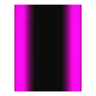 Luminous Pinkish Purple and Black Ombre Flyer