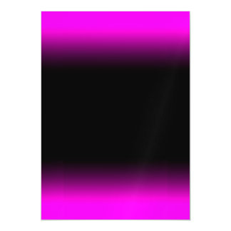 Luminous Pinkish Purple and Black Ombre Magnetic Card
