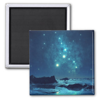 Luminous Stars Fridge Magnet