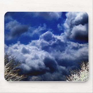 Luminous Storm Front and Electric Trees by KLM Mouse Pad