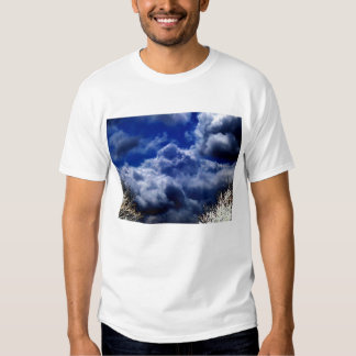 Luminous Storm Front and Electric Trees by KLM Shirt