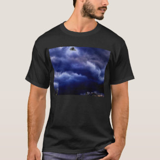 Luminous Storm&Negative Branches by KLM T-Shirt