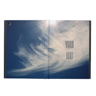 Luminous Sun and Lovely Clouds Personalize Powis iPad Air 2 Case
