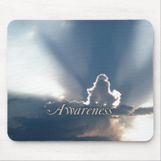 Luminous Sun Rays: Awareness reminder Mouse Pad