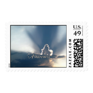 Luminous Sun Rays: Awareness reminder Postage Stamp