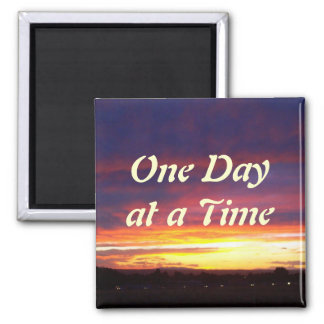Luminous Sunset ODAT 2 Inch Square Magnet