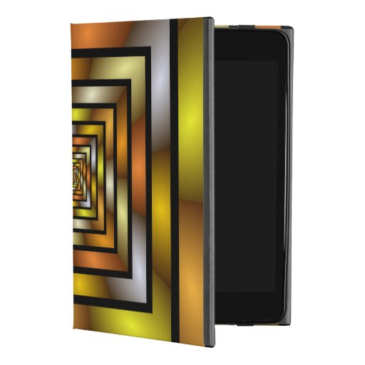 Luminous Tunnel Colorful Graphic Fractal Pattern iPad Mini 4 Case