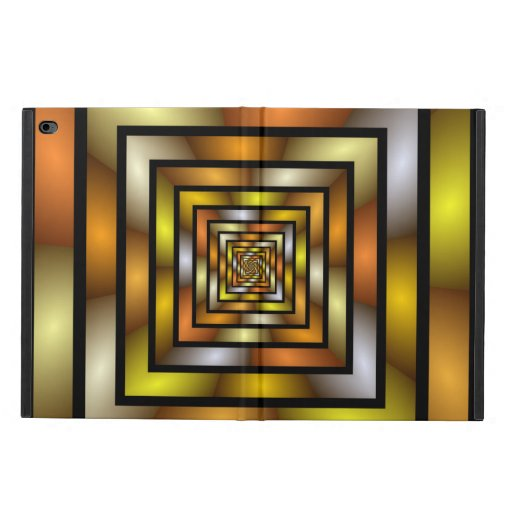 Luminous Tunnel Colorful Graphic Fractal Pattern Powis iPad Air 2 Case