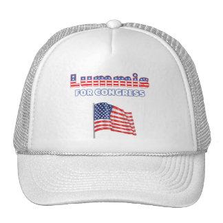 Lummis para la bandera americana patriótica del co gorra