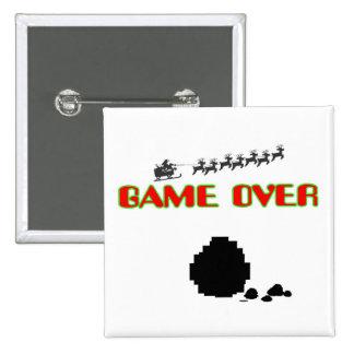 Lump Of Coal-Game Over Pin