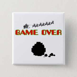 Lump Of Coal-Game Over Pinback Button