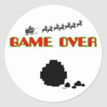 Lump Of Coal-Game Over Stickers