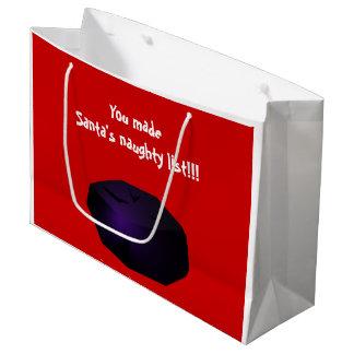 Lump of Coal Large Gift Bag