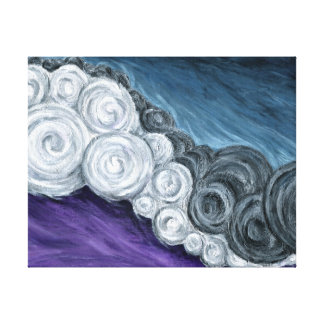 Lump Sum - Abstract Fine Art Gallery Wrapped Canvas