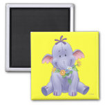 Lumpy 2 2 inch square magnet