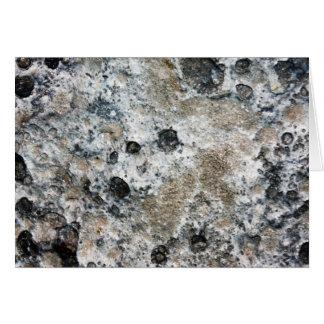 Lumpy Bumpy Moon Rock Greeting Card