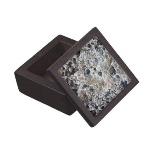 Lumpy Bumpy Moon Rock Premium Keepsake Boxes