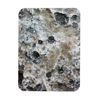 Lumpy Bumpy Moon Rock Rectangular Magnets