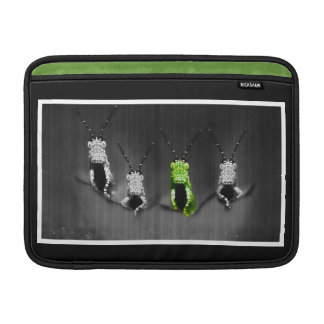 Lumpy Green Bug Sleeve For MacBook Air