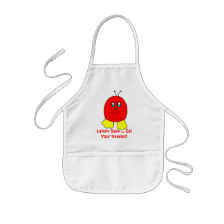Lumpy Says ...Eat Your Veggies! Kids Apron