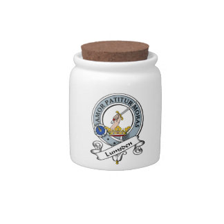Lumsden Clan Badge Candy Dish