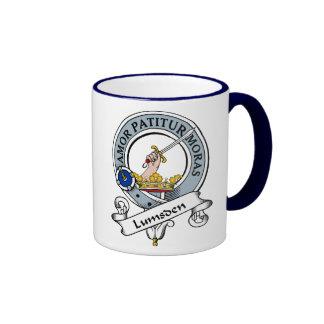 Lumsden Clan Badge Coffee Mugs