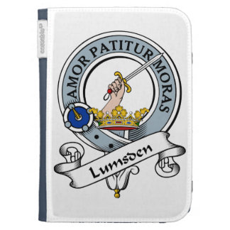 Lumsden Clan Badge Kindle 3 Covers