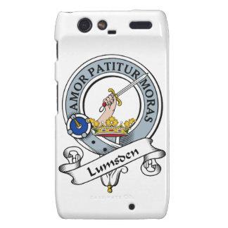 Lumsden Clan Badge Motorola Droid RAZR Cases