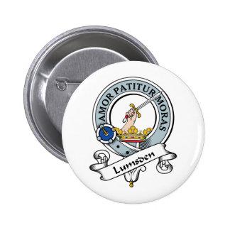 Lumsden Clan Badge Pinback Button