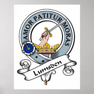 Lumsden Clan Badge Posters