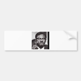 Lumumba Bumper Sticker
