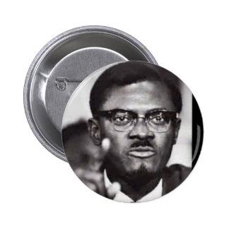 Lumumba Pinback Button